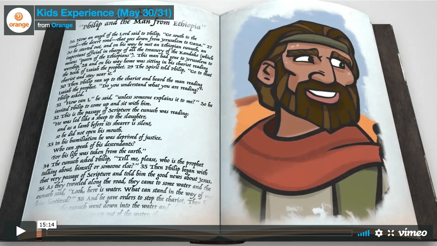 Weekly Bible Studies: Kids Experience