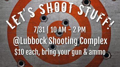 Let's Shoot Stuff!