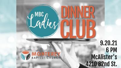 Ladies Dinner Club