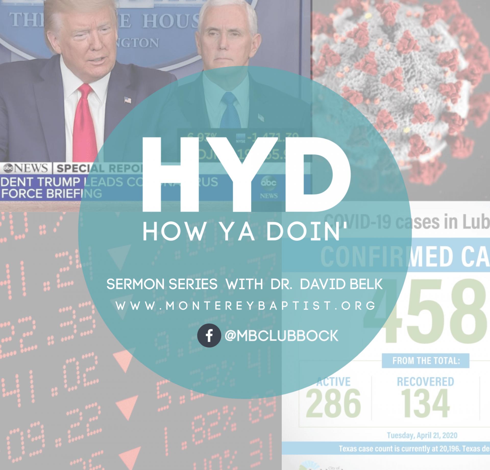How Ya Doin? – Part 2