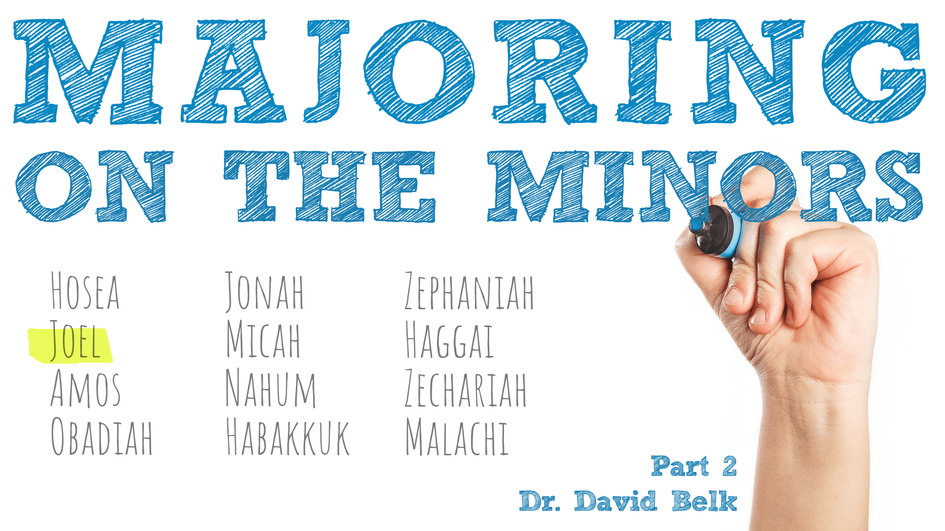 Majoring on the Minors – Part 2