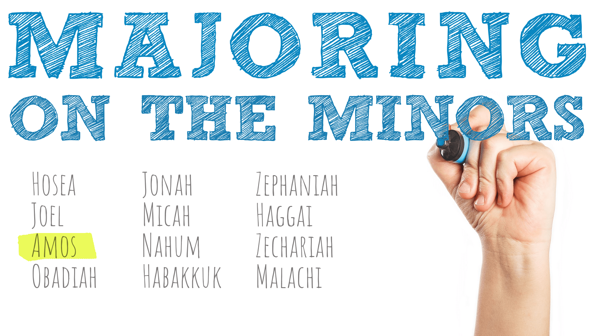 Majoring on the Minors – Part 3